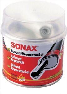 Sonax Auspuff Reparatur Set 200g Dichtmasse+Gewebeband 1m x 6cm Paste Bandage