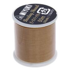 Miyuki Beading Thread 50M Gold