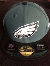 New Era Philadelphia Eagles NFL Fitted Hat Green 7 3/8