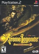 Dynasty Warriors 3 Xtreme Legends PlayStation 2 Ps2 Game
