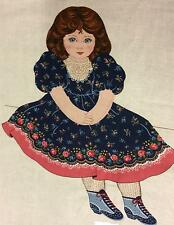Victoria Victorian Style Doll 100% Cotton Fabric Panel Pieces for Making A Doll