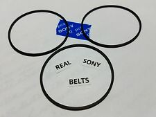 SONY 300 CD Player REAL SONY Brand (3) Belts CDP-CX300 CDP-CX355 see more models