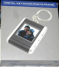 "Mini Digital Viewer Photo Frame 1.5"" LCD Pocket Keychain Plug & Play Black.New."