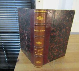 ANATOLE FRANCE- LES OPINIONS DE M.JÉRÔME COIGNARD-Relié-1893-ÉDITION ORIGINALE