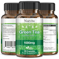 Green Tea Extract 1000mg Super Strength 360 Vegan Capsules Weight Loss Tablets