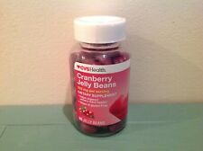 90ct Jelly Beans CVS Health Cranberry Jelly Beans 500mg Dietary Supplement 04/21