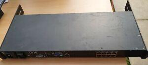 IBM 8-Port Rack Mount Console Switch,1735-3LX,  41Y9310