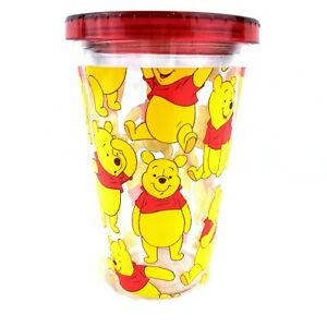 Disney Store Winnie The Pooh Tumbler Cup No Straw 14 oz