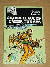 CLASSICS ILLUSTRATED 20,000 LEAGUES UNDER THE SEA JULES VERNE RARE BRITISH COMIC