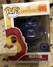 Disney Lion King Spirit Mufasa Funko Pop Vinyl Figure PIAB Exclusive #495Mint