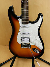 Haze E-211BS Solid Body Electric Guitar,Sunburst w/Free Gig Bag,Strap-Full Kits