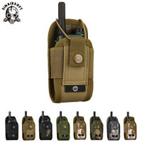 Universal MOLLE two-way Radio Holder Case Holster Walkie Talkie Pouch Tools Bag