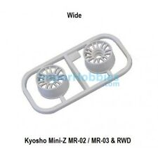 Kyosho set de llantas Mini-z MR03 W-offset 3.0 (2) - blanco / K. Mzh131w-w3