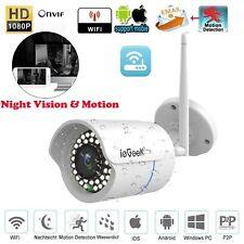 ieGeek 1080P Ip66 Home Security Surveillance Ip Camera Night Vision Outdoor Us