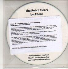 (CU441) The Robot Heart, Alto45 - 2012 DJ CD