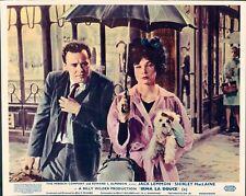 IRMA LA DOUCE JACK LEMMON SHIRLEY MACLAINE LOBBY CARD