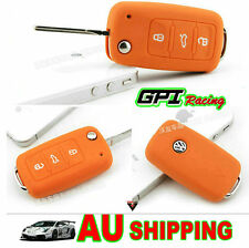 VW Key remote Silicone Case Cover VOLKSWAGEN Golf  Beetle BORA PASSAT Jetta MK5