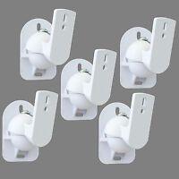 5 White Surround sound speaker wall brackets Universal
