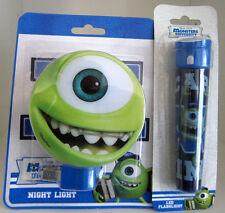 NEW Disney Monster University Night Light & Led Flashlight