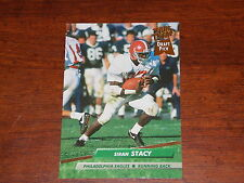 FOOTBALL CARD 1992 FLEER CORP #442 SIRAN STACY EAGLES RB DRAFT PICK