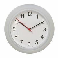 Ikea RUSCH  Kitchen Lounge Wall Clock, White. New &  Box
