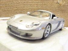 Cararama 171BND Porsche Carrera GT 2 Door Silver 1/72 Scale T48 Post