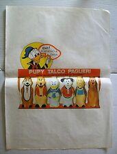PUPY TALCO PAGLIERI Walt Disney Velina pubblicitaria Anni 60