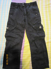 Kiko Boy Black Long Pants (8yo) 1 pair