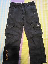 Kiko Boy Black Long Pants (8yo) 1 pair