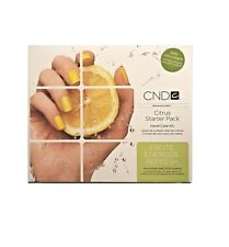 Cnd Citrus Starter Pack - Hand Care Kit 5 items New