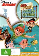 Jake and the Never Land Pirates: Peter Pan Returns! * NEW DVD *