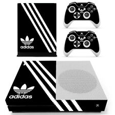 Adidas XBOX ONE S Slim Skin Sticker Decal Vinyl Console + 2controllers