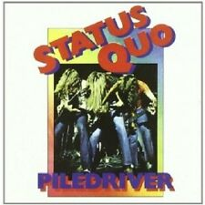 STATUS QUO - PILEDRIVER (REMASTERED)  CD  9 TRACKS CLASSIC ROCK & POP  NEU
