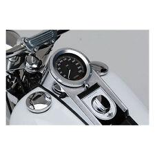 Tachoblende Silber für Harley Davidson Softail/Fat Boy von MCS Bj.1984-2017