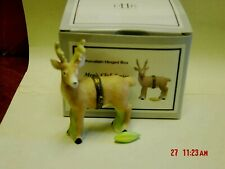 Phb Midwest Deer Trinket Box W/ Ear Of Corn Trinket