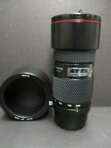 Tokina AT-X 80-200mm f/2.8 AF lens For Minolta/Sony Mount  with lens hood mint