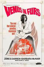 VENUS IN FURS Movie POSTER 11x17 B James Darren Klaus Kinski Barbara McNair