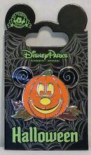 Disney Happy Halloween Trick or Treat Jack Lantern Pumpkin Mickey Pin CUTE RARE