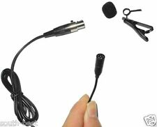 MKE2 Micro Omnidirectional Lavalier Lapel Microphone for Shure Wireless Bodypack