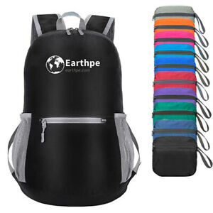 M7 Durable Lightweight Packable Backpack Water Resistant Travel Daypack Foldable