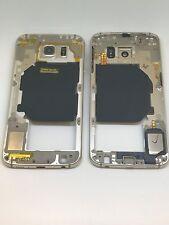 Orig Frame Mittel Rahmen Gehäuse Mittelrahmen Linse Gold Samsung Galaxy S6 G920F