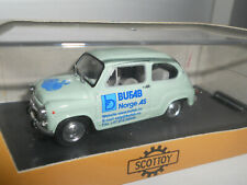 SCOTTOY FIAT 600 BUFAB NORGE AS SCALA 1/43 351525