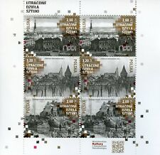 Poland 2018 MNH Lost Works of Art 6v M/S Churches Architecture Stamps
