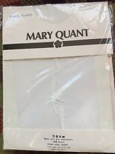 VINTAGE MARY QUANT TIGHTS, PEARL DROPS TIGHTS,WEDDING TIGHTS, MADE IN ITALY