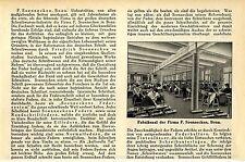 Friedrich Soennecken, Bonn Fabriksaal der Firma Historische Memorabilie von 1912