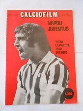CALCIOFILM il film della partita -n.8 novembre 1972 - napoli - juventus 1-1