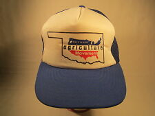 Vintage Men's Cap AMERICAN AGRICULTURE MOVEMENT Size: Adjustable BLUE [Z164g]