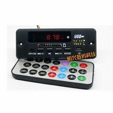 DC 12V MP3/WMA/WAV decoder board MP3 player Digital LED FM radio for Amplifier