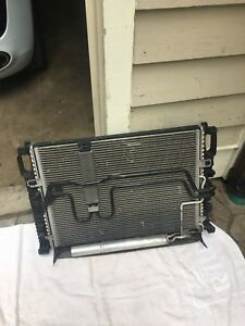 MERCEDES  BENZ  AC CONDENSER Radiator Transmition  cooler  GENUINE
