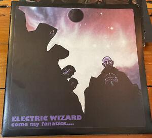 1996 Electric Wizard Come My Fanatics 2xLP Vinyl Doom